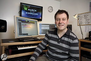 Mark Russell: Scoring March Of The Dinosaurs