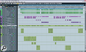 Here's what Alex's project file looked like when he sent it in to SOS — aparagon of virtue as far as Mix Rescue is concerned, with tracks thoughtfully grouped, multed, labelled, and coloured, and with careful editing and automation where necessary.
