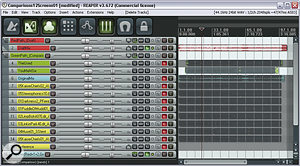 It's not abad idea to export your mixdown to aseparate project for mix‑referencing purposes.