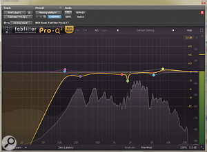 The final EQ used on the lead vocal.