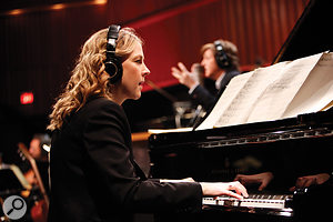 Pianist Diana Krall was the linchpin of the backing group put together by Tommy LiPuma.