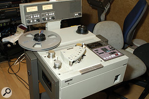 Sony APR5000 stereo recorder.