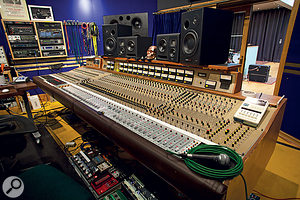 The control room at Assault & Battery Studio 2 is the new home for this legendary Cadac desk.
