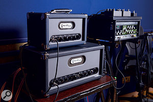 Like many UK engineers, Catherine Marks is a fan of the Audio Kitchen range of boutique guitar amps.