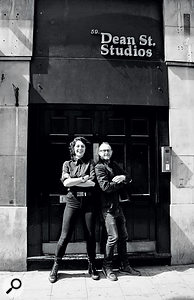 Salogni spent a year assisting Danton Supple (right) at Dean Street Studios in Soho, London.