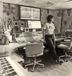 Strongroom Studio 4 was designed around an analogue Calrec desk, and much of Salogni's work lay in ensuring that mixes could be precisely recalled.