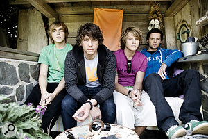 McFly (from left): Tom Fletcher, Danny Jones, Dougie Poynter and Harry Judd.