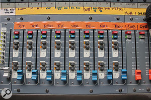 Among the XL3's many innovations was the inclusion, as standard, of VCA faders.