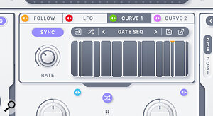 Rift's modulation provides plenty of options for adding real‑time motion to your sounds.