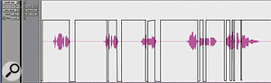 Effect sends from the lead and backing vocals were automated to avoid sending sibilants to the reverb or delay.