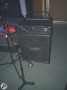 This mis-miked bass cab was the cause of many of this month's problems.