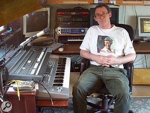 Reader Michael Bowkunowicz in his home studio.