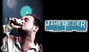 James Elder, the vocalist on this month's Mix Rescue.