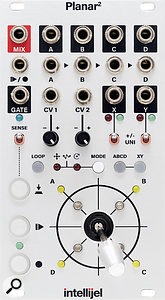 Intellijel Planar 2. Size: 14HP. Current: +12V 85mA, -12V 32mA.