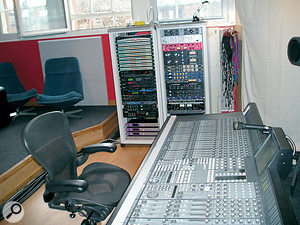 Castle of Doom, where Gareth Jones mixed the album on a Euphonix CS2000.