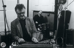 Pedal steel maestro BJ Cole is one of Britain's best–known session players.