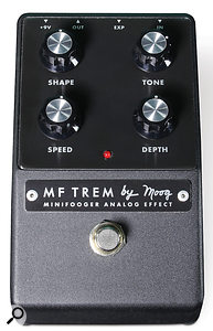 Despite the name, the MF Trem's 'Depth' control governs a wet/dry blend facility, which creates an interesting effect in its own right.