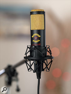 Crowley & Tripp's El Diablo, now sold as the Shure KSM313, was specially designed to counter the common perception that ribbon mics are fragile. Other models are susceptible to air blasts and shocks — but not to loud noises or phantom power!