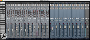 Notion 5's mixer really benefits from its new, cooler, cleaner look. It has more buses now too, and a  trio of better plug–ins derived from Studio One, including this simple four–band EQ.