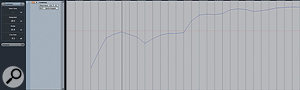 The Loudness track makes it possible to view loudness over time. Notice how the Short Term value on the track header confirms that the loudness at the current position of the cursor is almost 0LU.