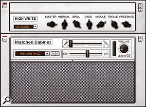 If you want your guitars to cut through a mix, the Hi–Watt emulation is a good starting point.