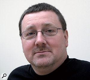 Jonty Harrison manages the BEAST multi‑speaker system at the University of Birmingham.