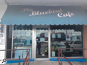 The real thing: Nashville's Bluebird Café is one of the city's most famous music venues, but its size precludes its being used as a  film set.