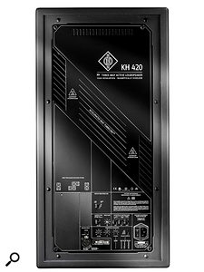 The back panel offers a  wealth of EQ options.
