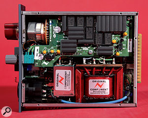 Both modules — the preamp with chunky transformers, and the EQ without — are built to a high standard.