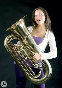 """Can't play the tuba? Don't worry — neither can I!"""