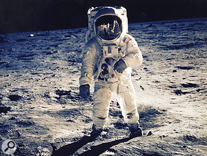 """""""I  don't know, you go to all the trouble of faking a  Moon landing and then no–one even cares!"""""""