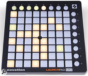 The Launchpad Mini is identical in interface and operation to the Launchpad S, and if anything I'm more impressed by the Launchpad Mini because of its handy size and classy finish.