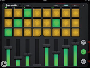 Launchkey is the name of Novation's controller keyboard range and also of this iPad synth app.