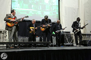 Among the many performers paying tribute to Ornette Coleman at his funeral service were his own Prime Time Band.