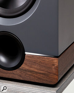 The electro‑acoustic design was handled by Barefoot, while Output contributed the aesthetics.