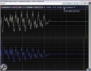 Want to see what your favourite transient shaper is actually doing? Download Oszillos Mega Scope and find out.
