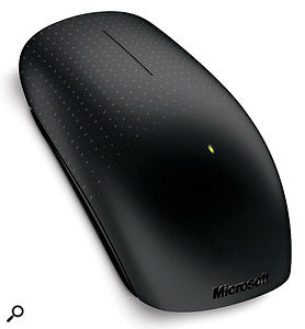 With multiple touch‑sensitive, capacitive sensors, Microsoft's new Touch Mouse could herald a new era of low‑cost, multi‑touch, gesture‑driven software.