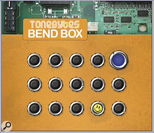 Here's your chance to experiment with circuit bending without risking your favourite synth, courtesy of Bend Box fromTonebytes.