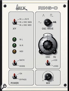 WOK Ring-o is a colourful ring modulator freebie with an attractive interface.
