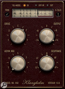 Klanghelm's IVGI is afreebie plug-in that's well well auditioning for its new slant on dynamic saturation and warmth.