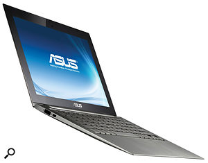 The Asus UX21 is the first skinny 'Ultrabook' PC laptop design to be released with 'tablet‑like features'.