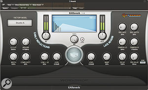 EAReckon EAReverb, AccSone CrusherX, Softube Classic Channel