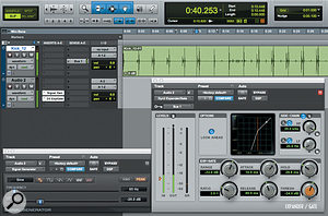 Another musical application for the Signal Generator plug-in: adding low end to a  kick drum.