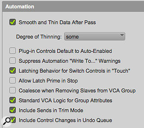 By default, Mix Groups under VCA Master control behave differently, but you can revert to standard behaviour in the Preferences.