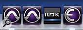 Russian roulette: one of the two Dock icons on the left opens Pro Tools 11; the other, Pro Tools 10...