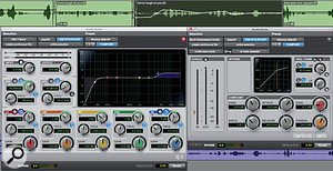 In Pro Tools 10, it's possible to havemultiple AudioSuite windowsopen atonce.