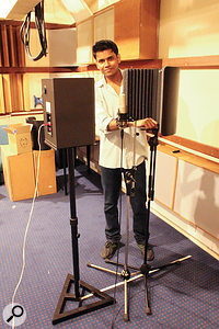 Salford postgraduate student Nikhilesh Patil carried out the tests.