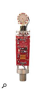 Naturally, the electronics are all solid-state, and include a  FET impedance converter and a  custom output transformer.