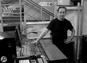 Keppler first encountered Digidesign (now Avid) live consoles when he started working with Nine Inch Nails.