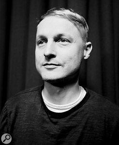 Pigsx7 rhythm guitarist and producer Sam Grant.
